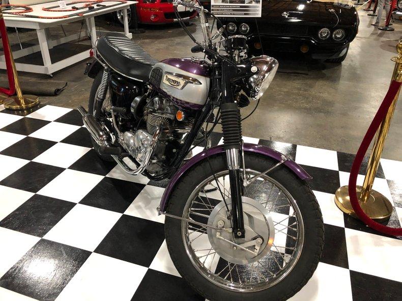 1970 Triumph T100R Daytona
