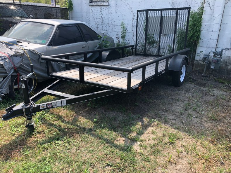 2018 5X10 Trailer Carry On Utility