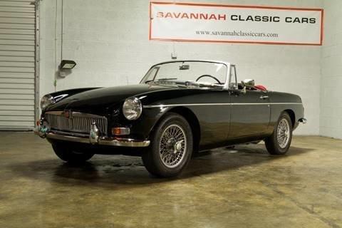 1967 MG B | Savannah Classic Cars