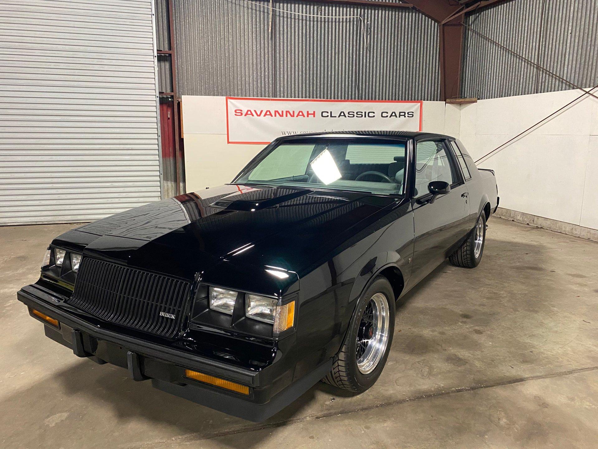 1987 buick regal t type we4