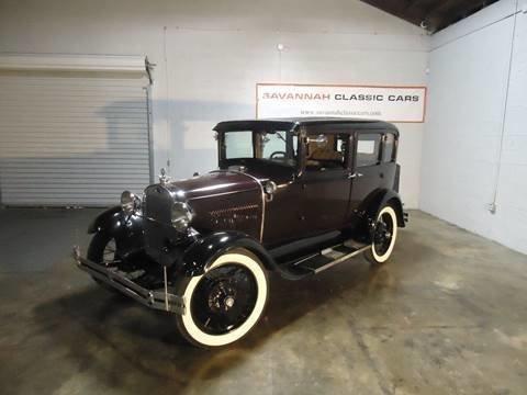 1929 ford model a fordor town sedan