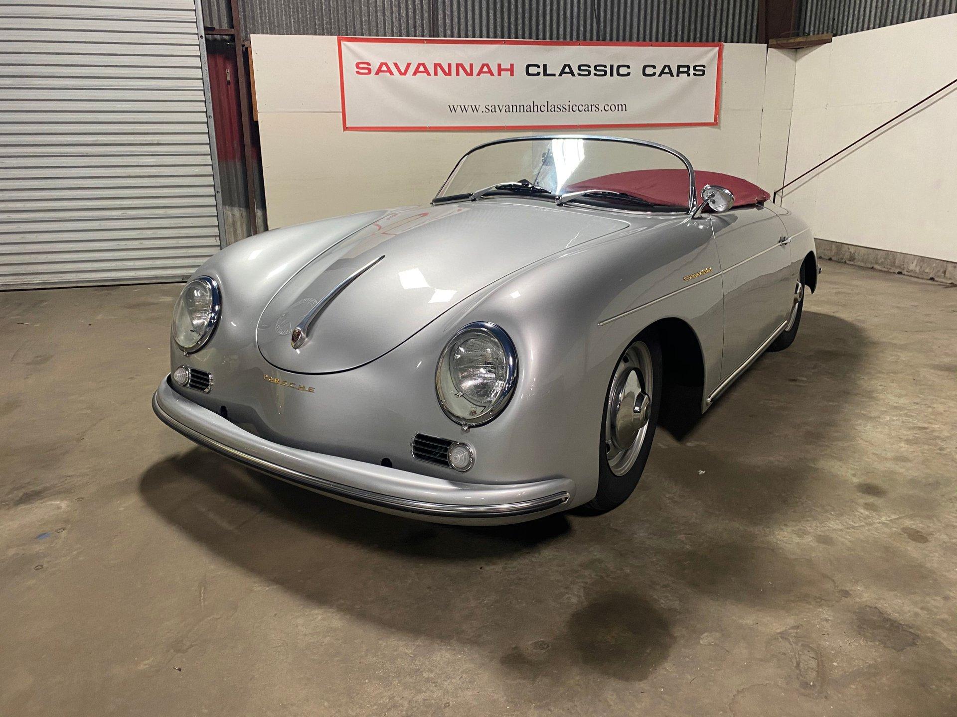 1960 porsche 356 replica