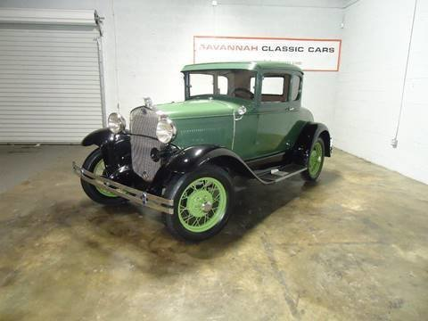 1930 ford model a deluxe coupe