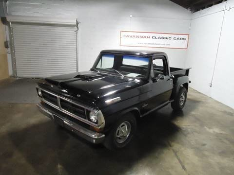 1970 ford f 100 short bed stepside