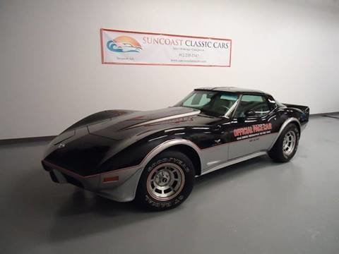 1978 chevrolet corvette indi pace car