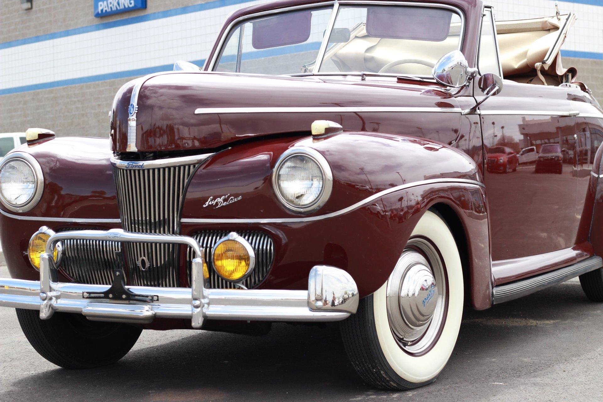 1941 Ford Super Deluxe For Sale 49732 Mcg Mercury Flathead Engine