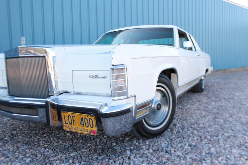 1978 Lincoln Town Car For Sale