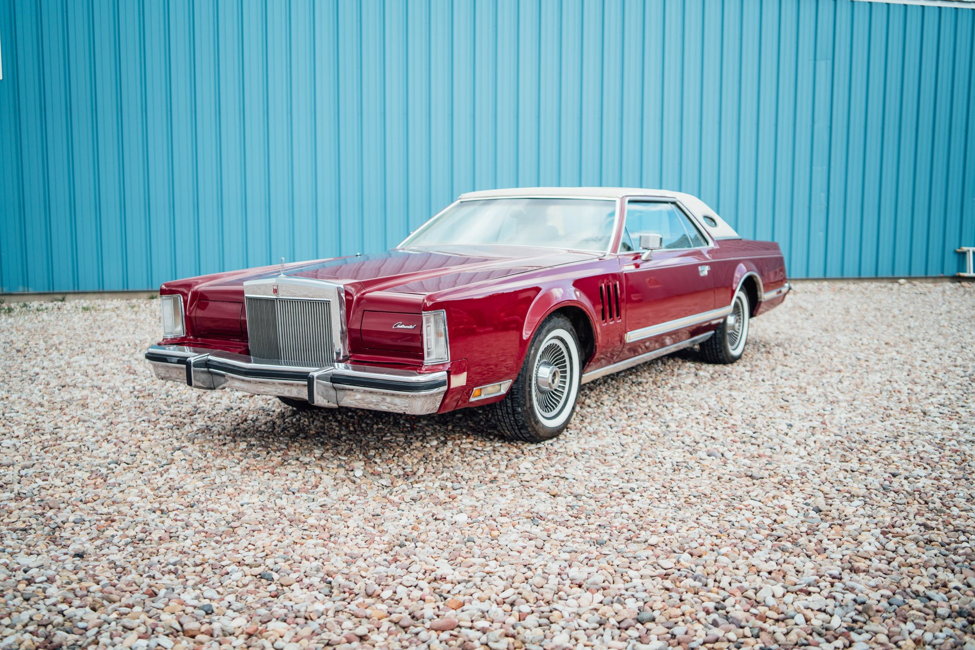 1978 lincoln mark v cartier edition