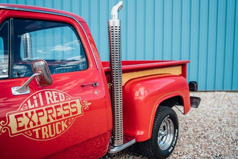 1979 Dodge D150 Li'l Red Express 25