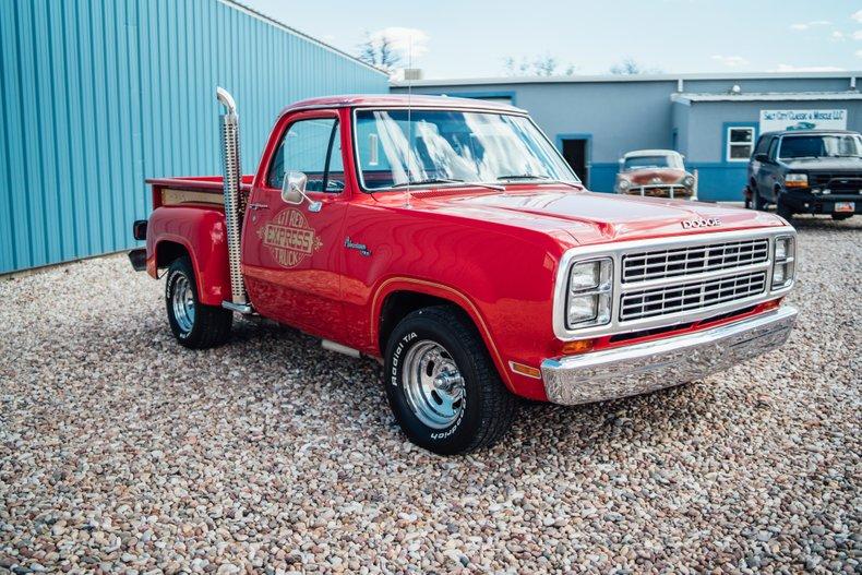 1979 Dodge D150 Li'l Red Express 3