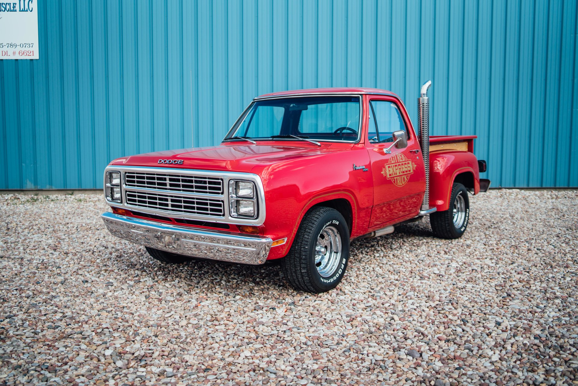 1979 dodge d150 li l red express