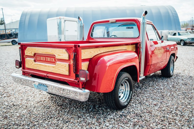 1979 Dodge D150 Li'l Red Express 5