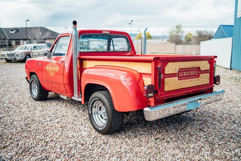 1979 Dodge D150 Li'l Red Express 7