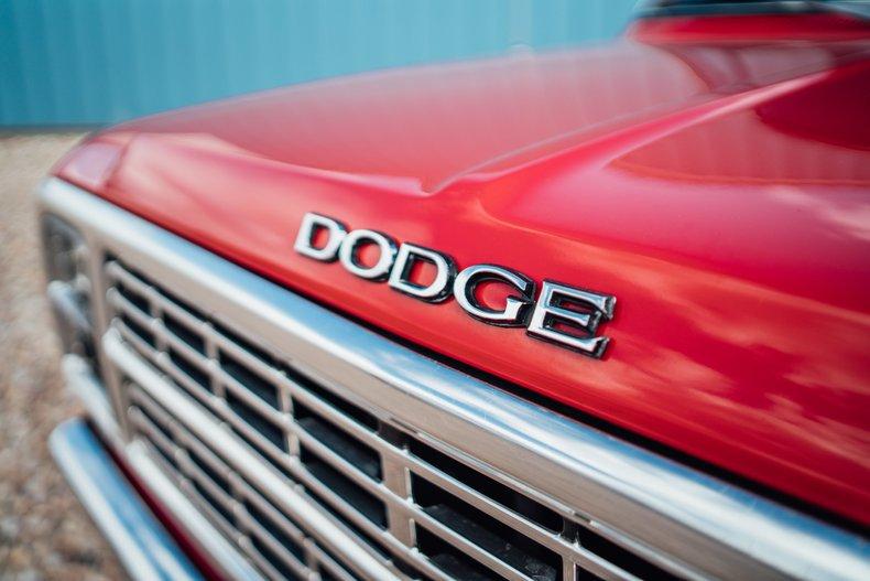 1979 Dodge D150 Li'l Red Express 9