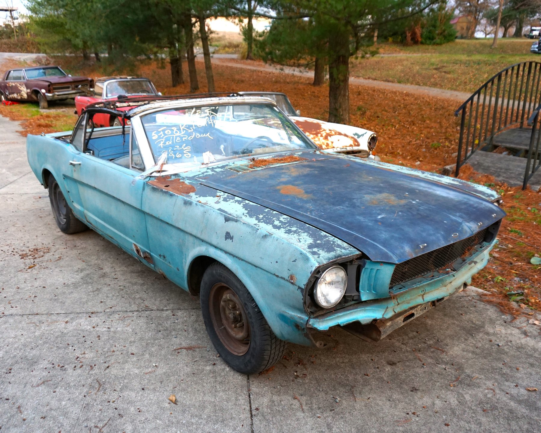 1965 ford mustang k code