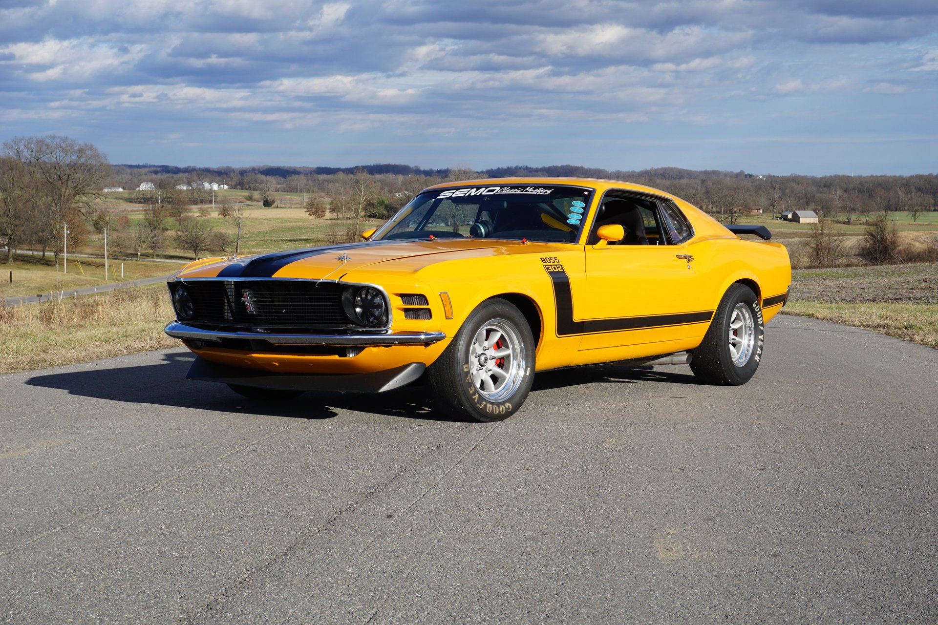 1970 ford mustang boss 302 trans am replica