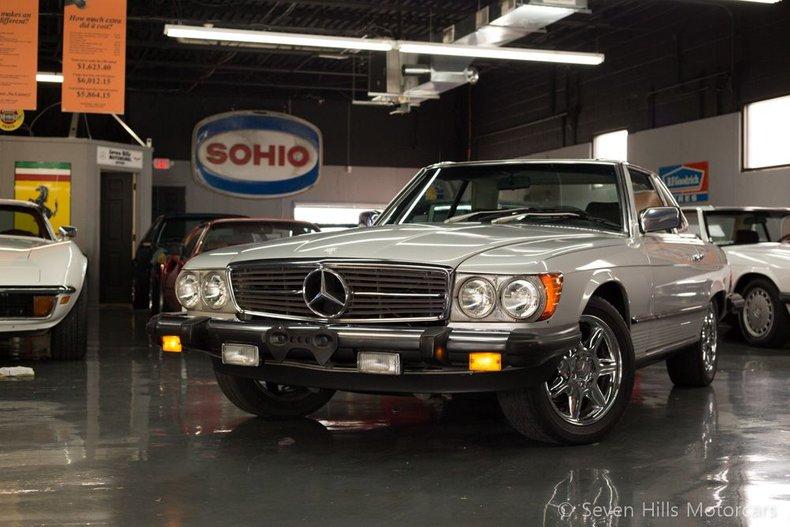 1981 Mercedes 380SL