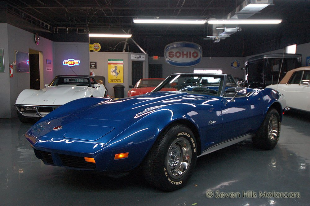 1973 chevrolet corvette stingray convertible