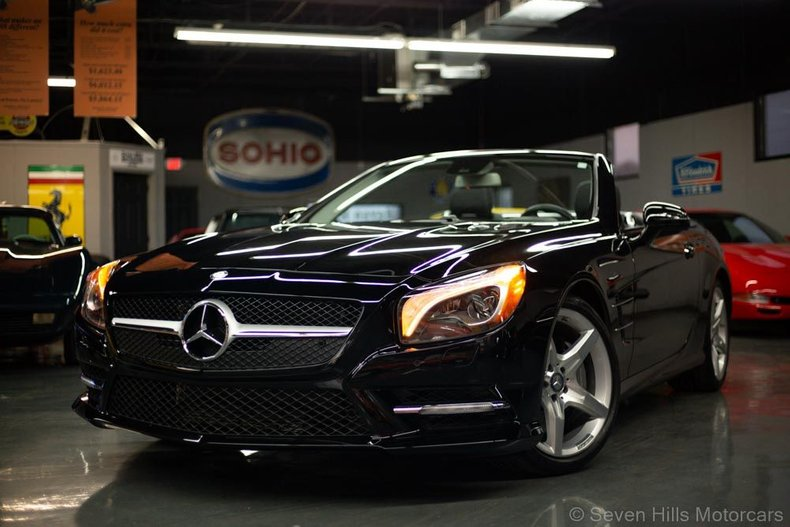 2013 Mercedes-Benz SL 550