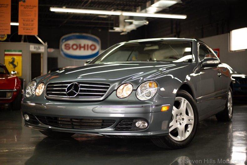2005 Mercedes-Benz CL500