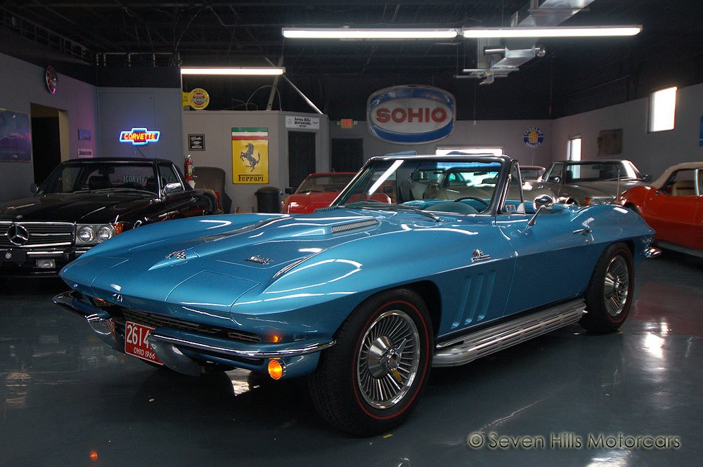 1966 chevrolet corvette l72 convertible