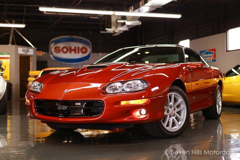 2002 Chevrolet Camaro SS For Sale