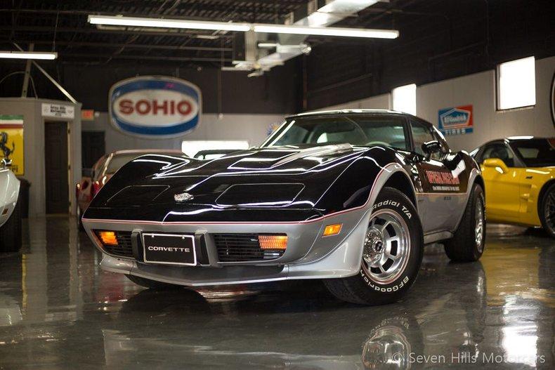1978 Chevrolet Corvette Indy Pace Car Edition For Sale