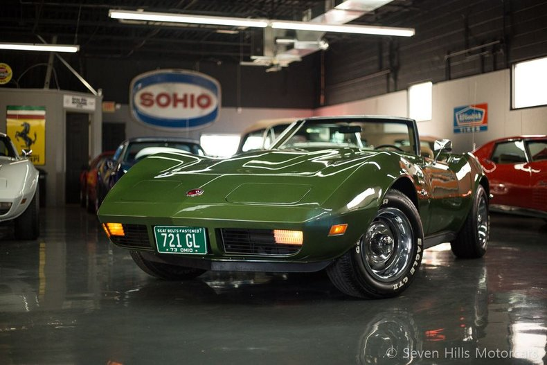 1973 Chevrolet Corvette Stingray Convertible
