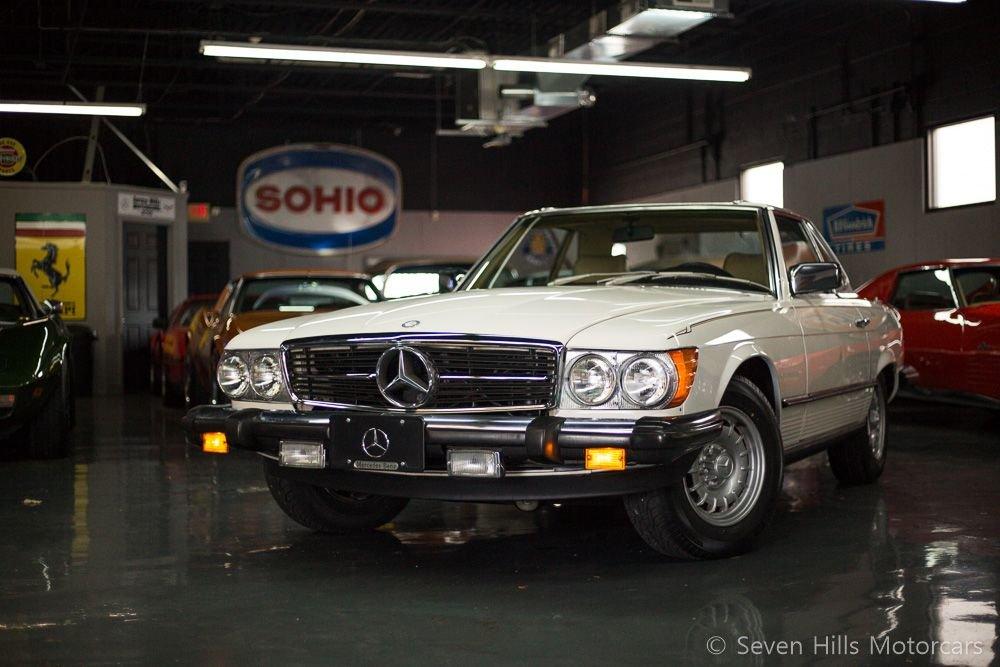 1982 mercedes benz 380sl
