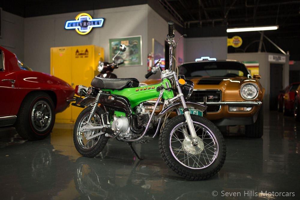 1973 honda st90