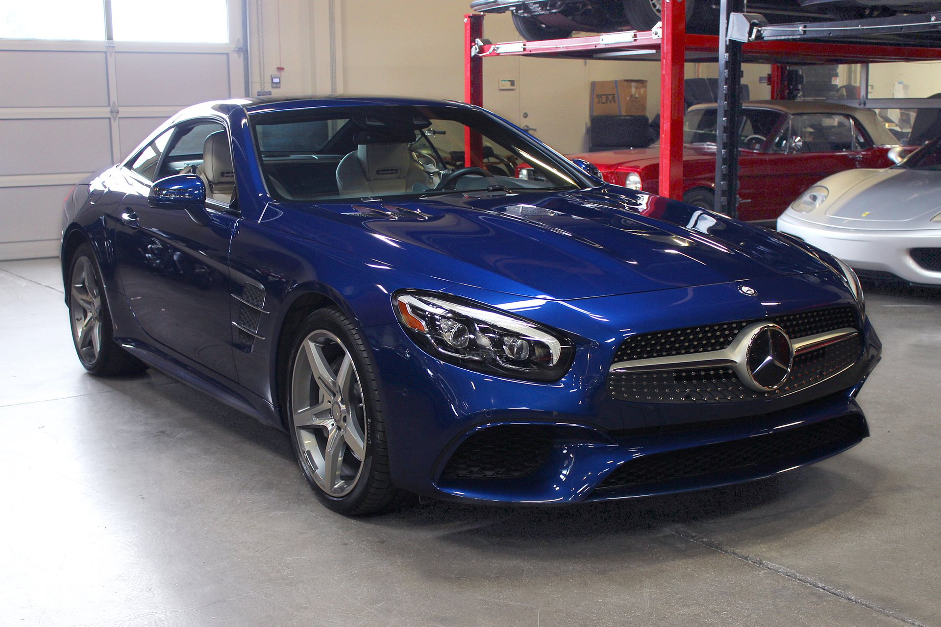 2017 mercedes benz sl550