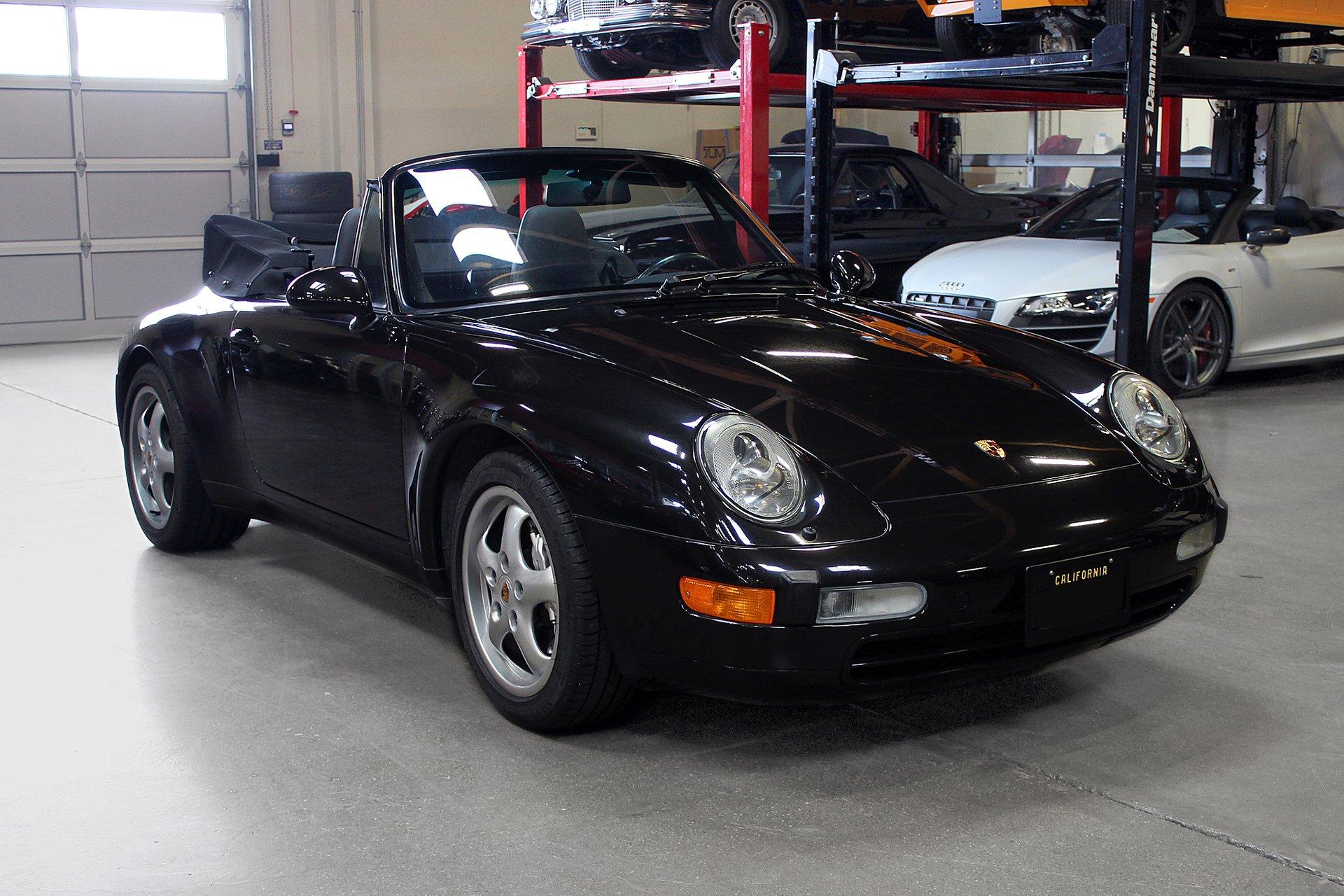 1997 porsche 911 carrera 4 cabriolet
