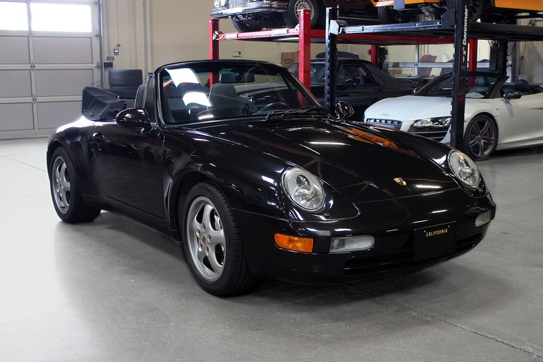 1997 Porsche 911 Carrera 4 Cabriolet For Sale