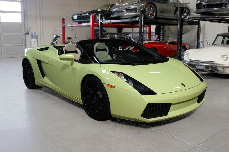 2006 Lamborghini GALLARDO SPYDER For Sale