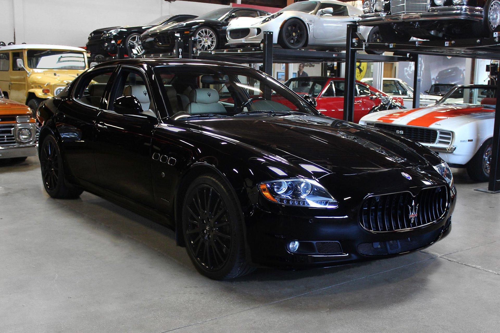 2012 maserati quattroporte s sedan