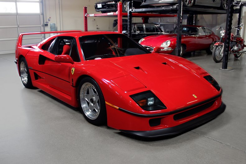San Francisco Sports Cars >> 1990 Ferrari F40 San Francisco Sports Cars