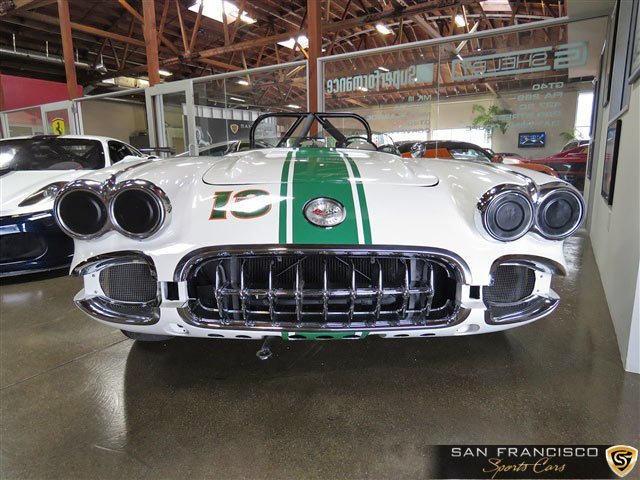 1958 chevy corvette race car