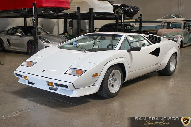 1984 Lamborghini Countach 5000s San Francisco Sports Cars