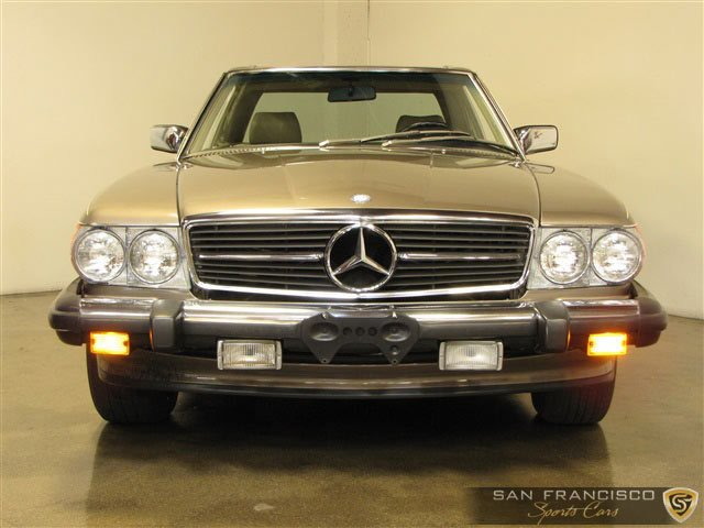 Mercedes Benz Of San Francisco >> 1987 Mercedes Benz 560sl San Francisco Sports Cars