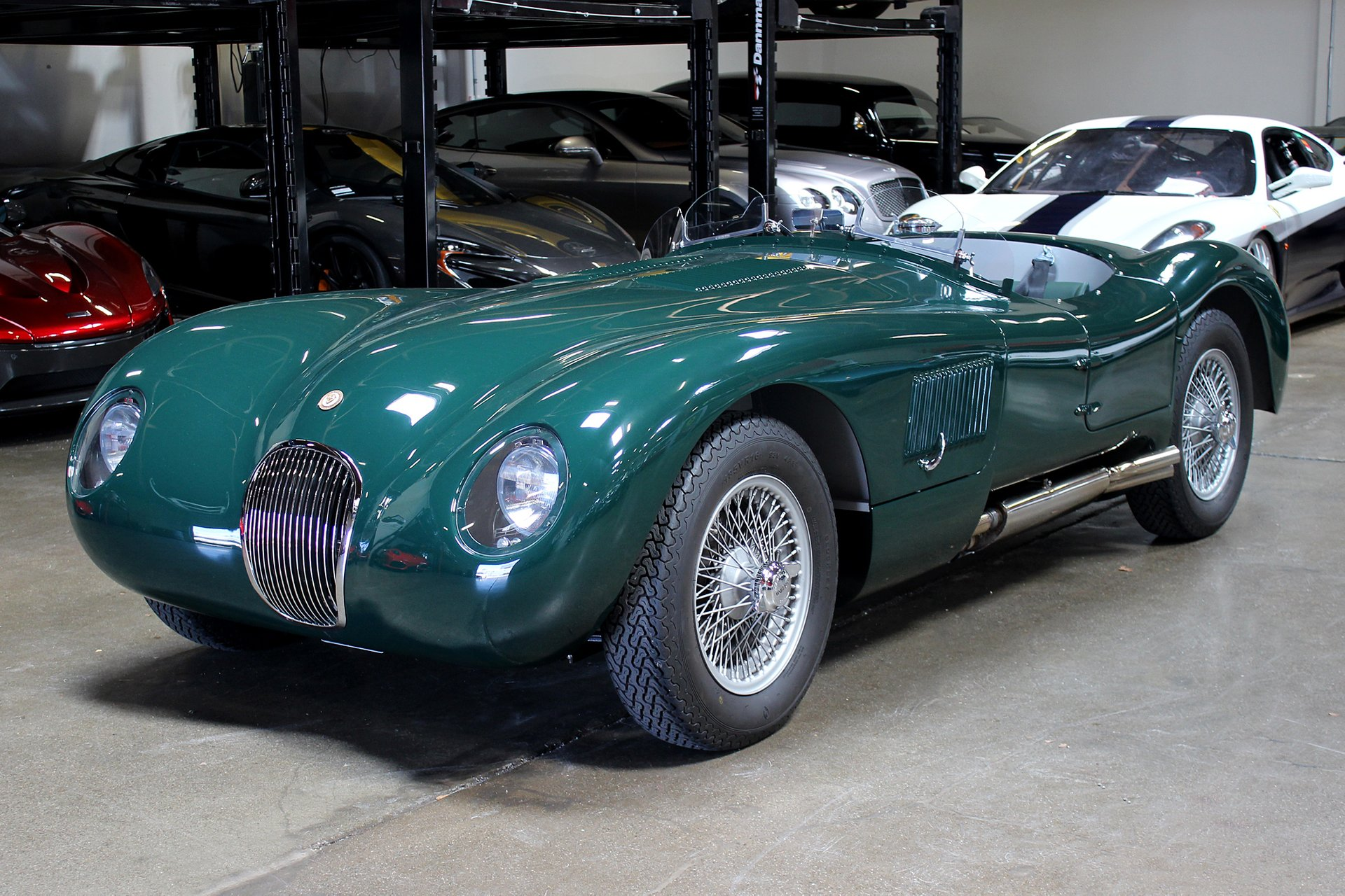 1953 jaguar c type recreation