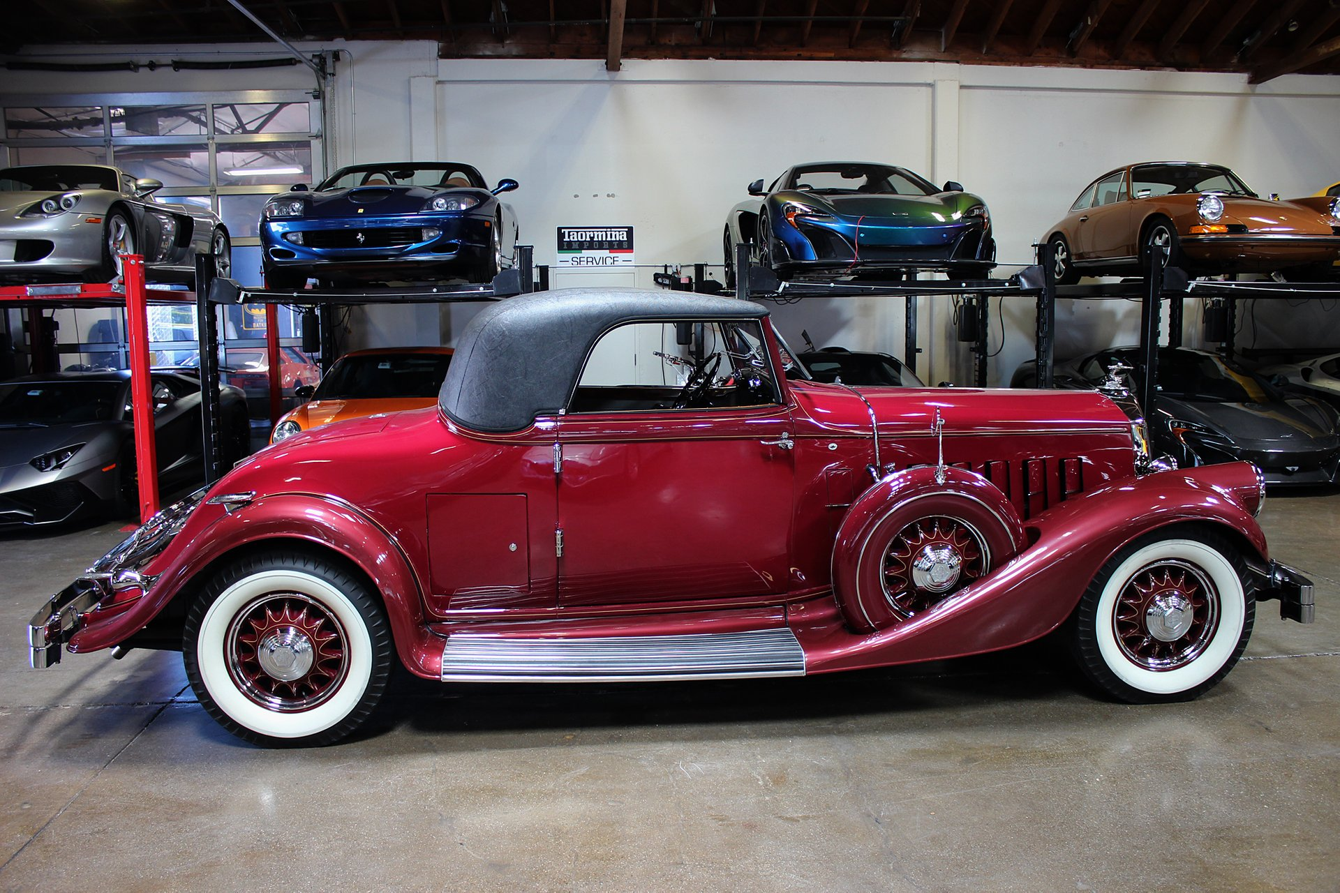 ... 1933 Pierce Arrow 836 Rumble Seat Coupe ...