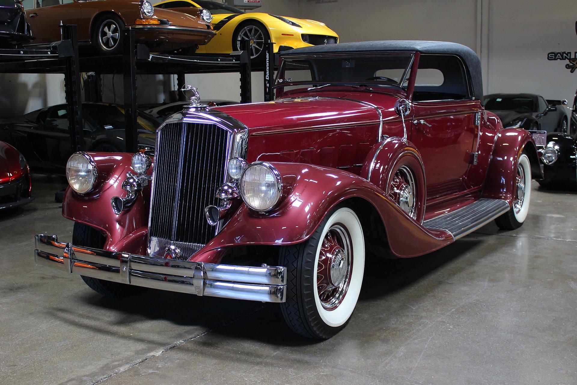 ... 1933 Pierce Arrow 836 Rumble Seat Coupe ...