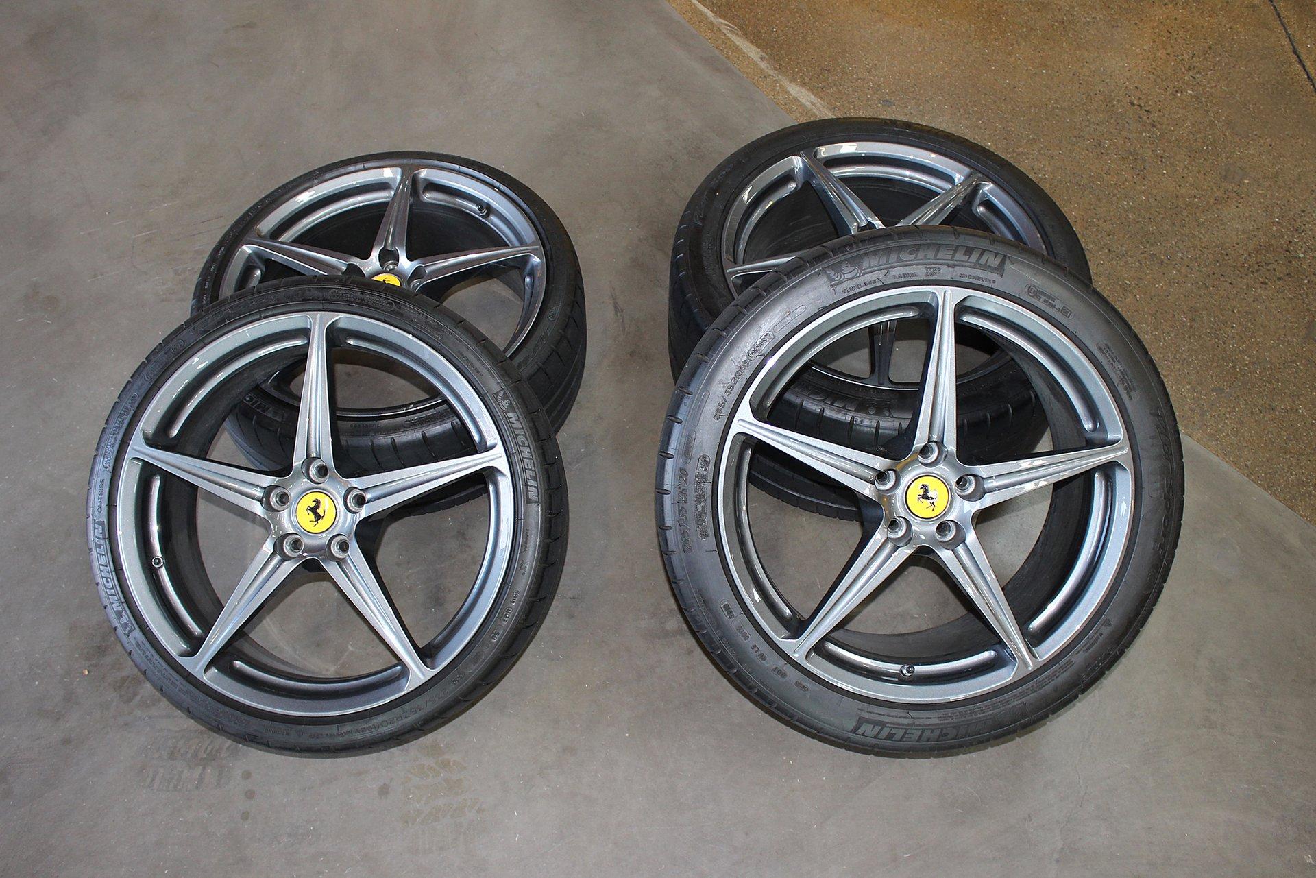 2010 ferrari 458 italia wheels