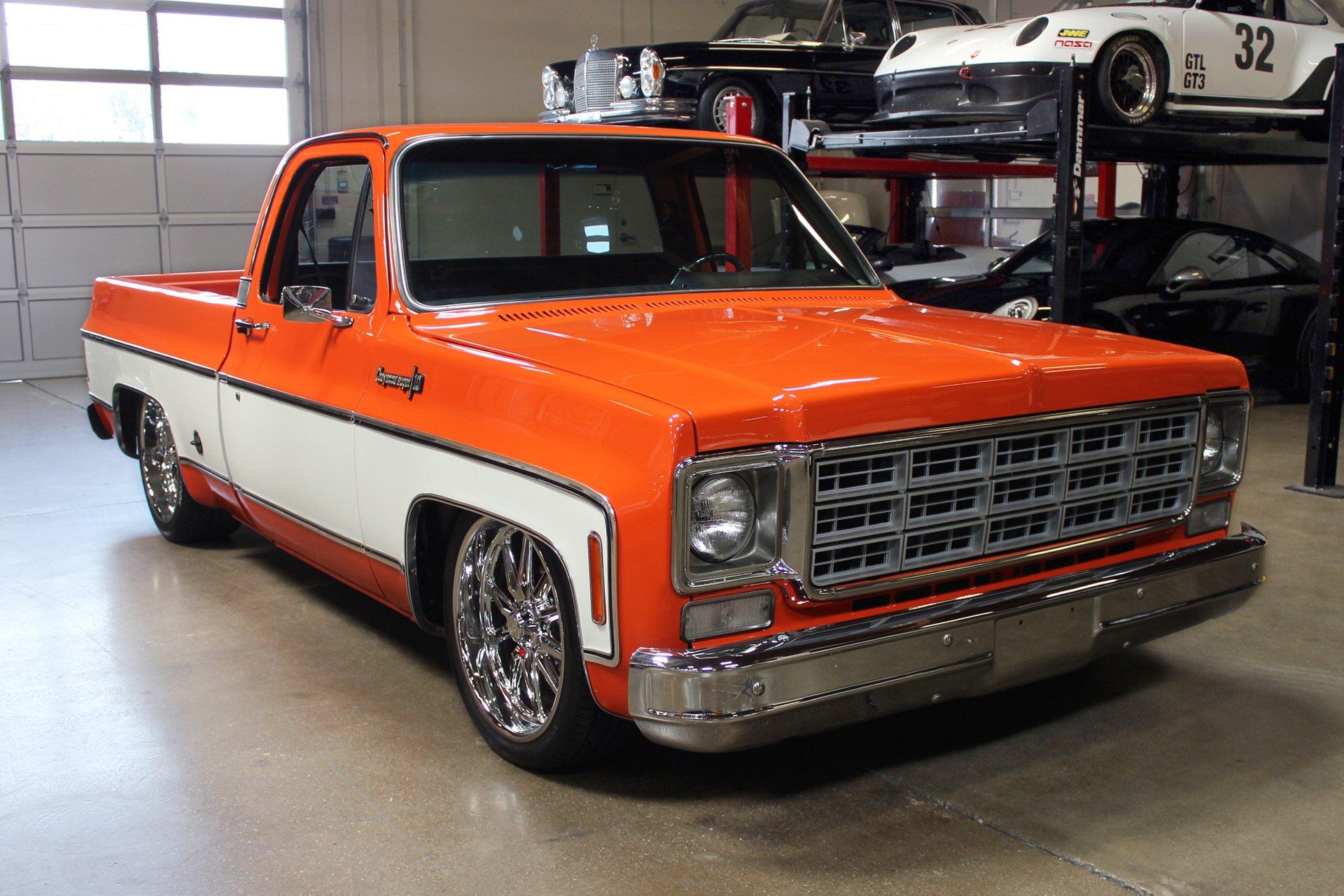 1973 chevrolet c10 pickup
