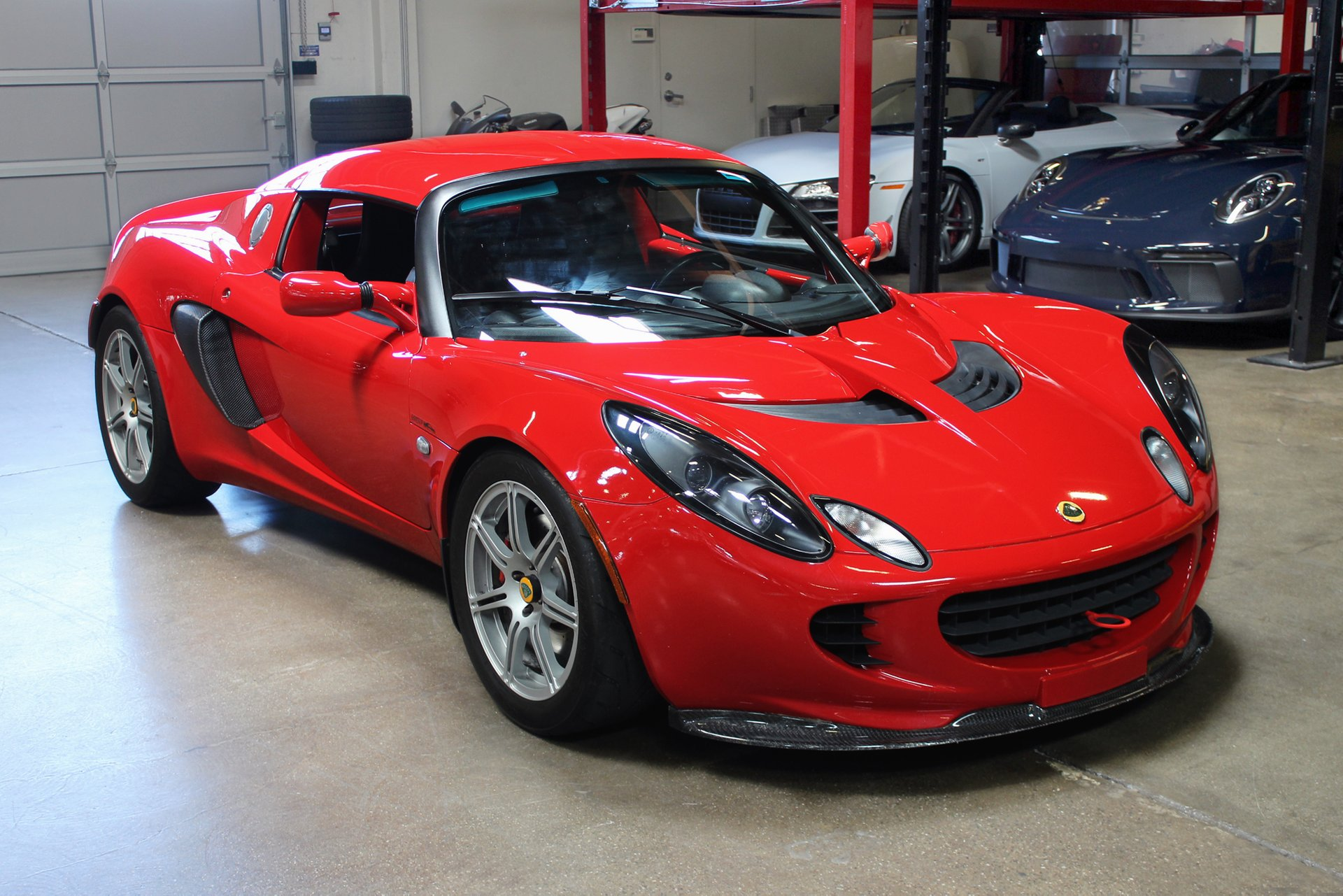 2005 lotus elise 2dr convertible