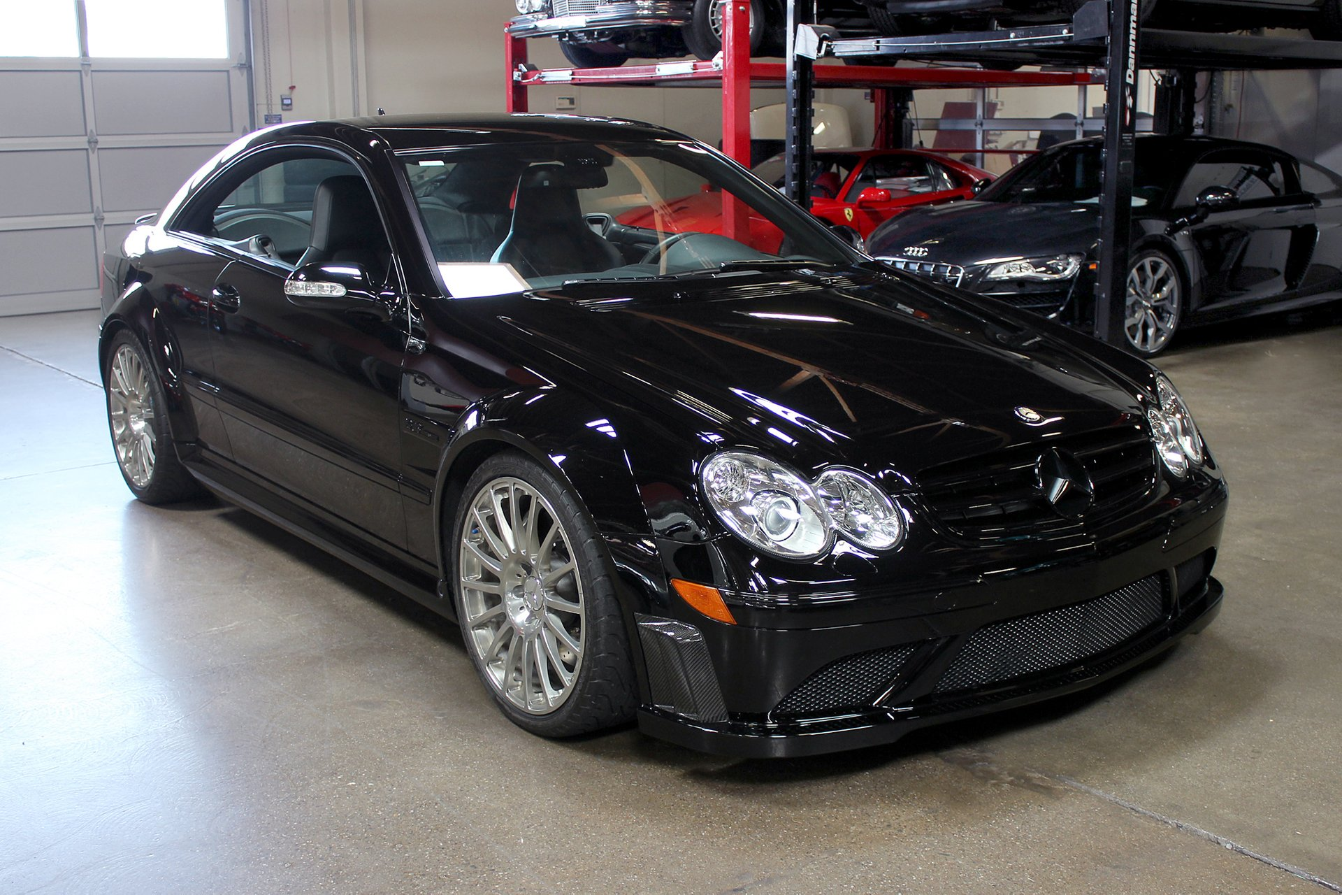 2008 mercedes benz clk63 black series