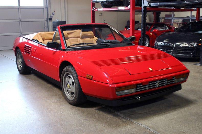 1989 ferrari mondial t for sale #99379 | mcg