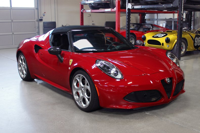 2016 alfa romeo 4c san francisco sports cars. Black Bedroom Furniture Sets. Home Design Ideas