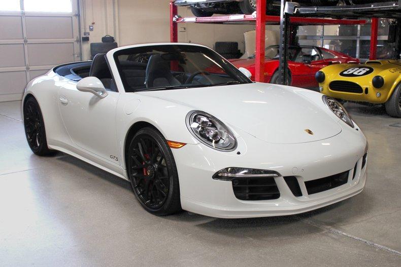 2015 Porsche 911 Carrera 4 Gts Cabriolet For Sale 105910 Mcg