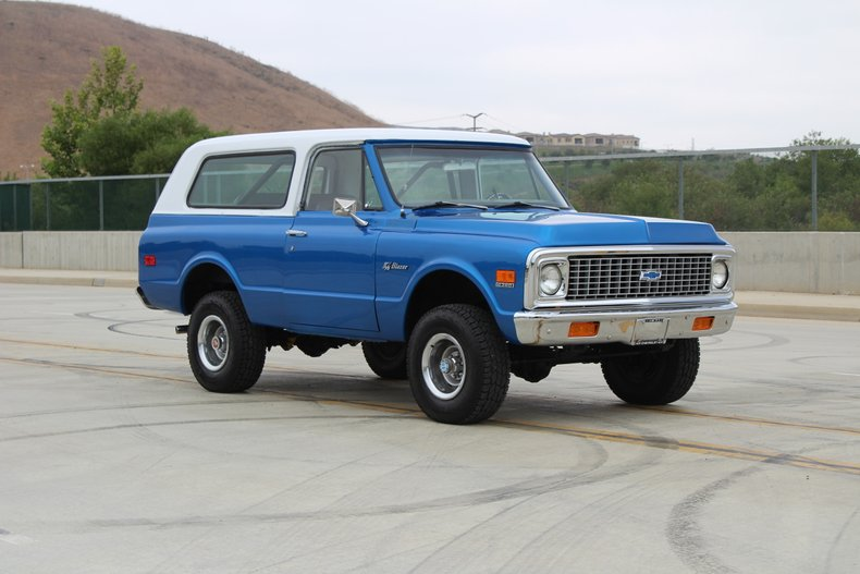1971 Chevrolet Blazer For Sale